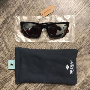 NWT Sperry fishers island men's sunglasses black